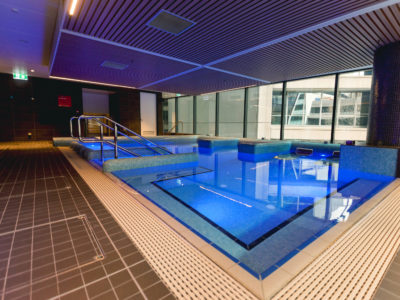 Award winning Virgin indoor swimming pool