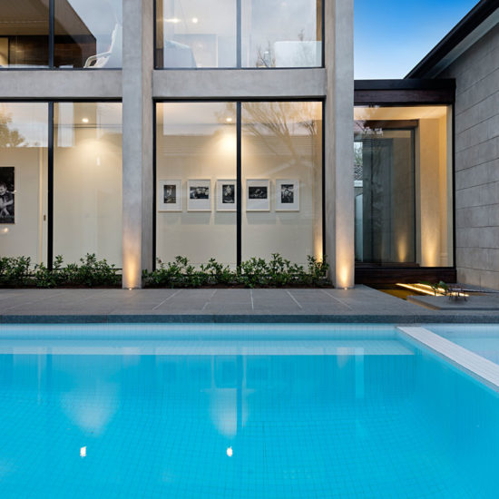 Courtyard Pool and Spa