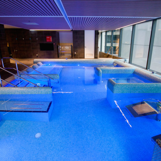 Award winning commercial pool relaxation