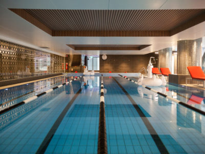 Award winning Virgin indoor swimming pool lap lanes