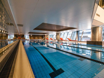 Award winning Virgin indoor swimming pool gold