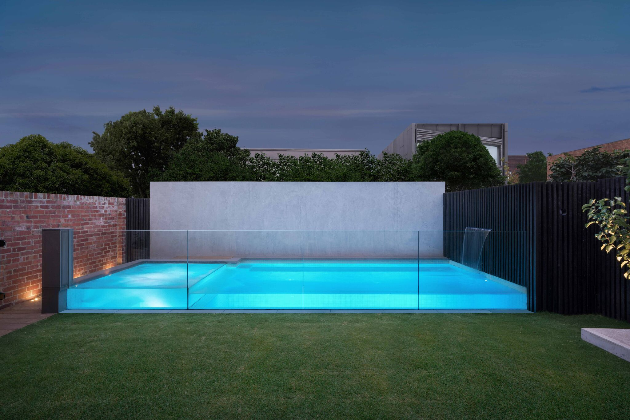 Plunge pool and Spa, Richmond - Neptune Pools